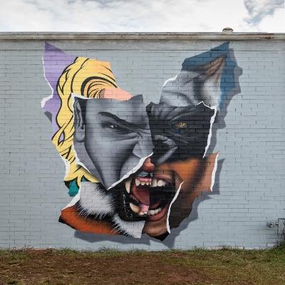 Charlotte Mural by Darion Fleming